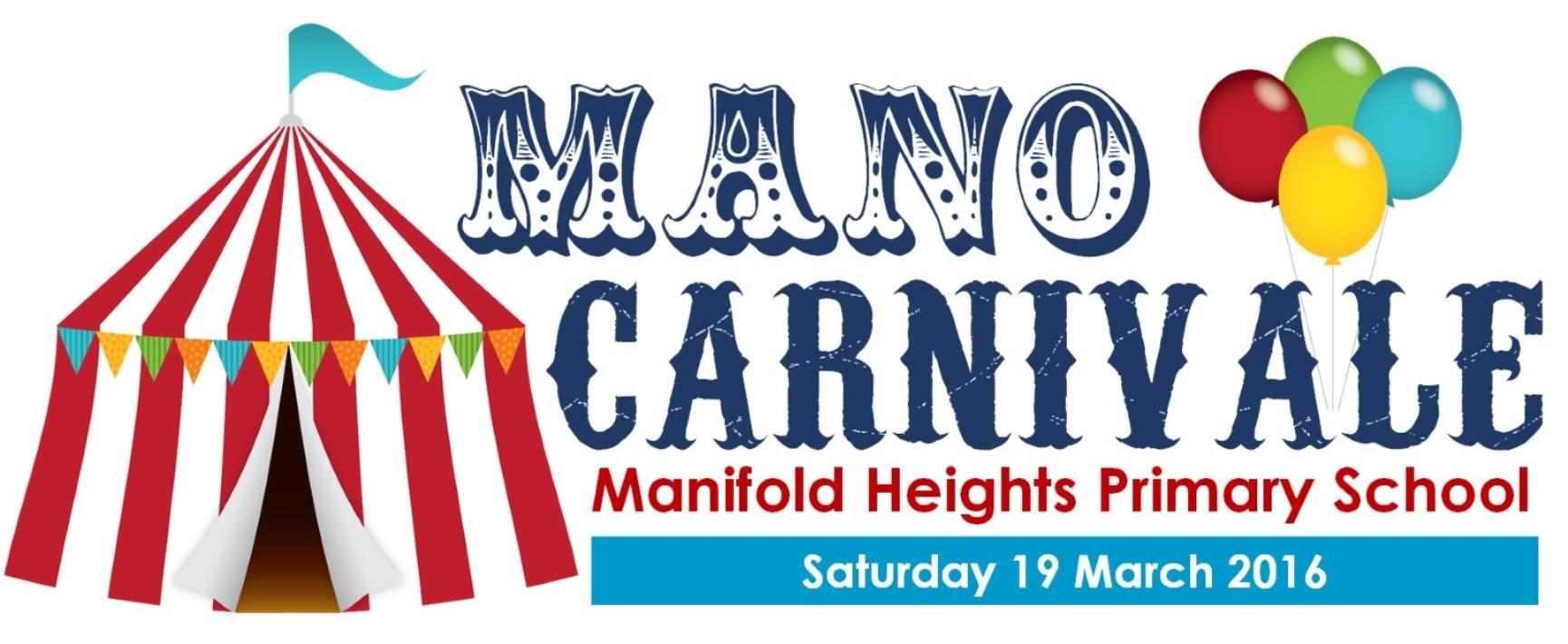 2016 Mano Carnivale w date
