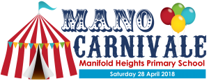 2018 Mano Carnivale Logo with date